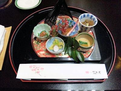 長嶋温泉ホテル花水木夕食前菜