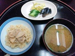 長嶋温泉ホテル花水木夕食はまぐり飯