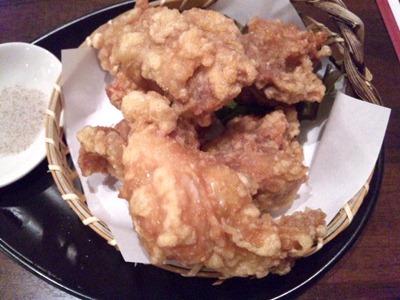 海鮮中華厨房張家/軟炸子鶏若鶏のジューシー唐揚げ