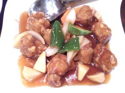 海鮮中華厨房張家/古老肉北京閣伝統の酢豚
