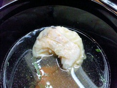 長嶋温泉ホテル花水木夕食椀物甘鯛