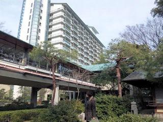 長嶋温泉ホテル花水木中庭