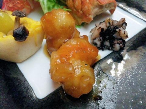 長嶋温泉ホテル花水木夕食伊勢海老の鬼殻焼