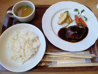 ジャズドリーム長島ナガシマキッチン松阪牛の合挽きハンバーグステーキ