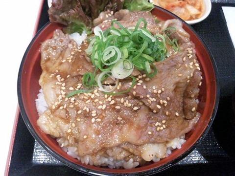ごはんどき・エムズキッチン鹿児島県産黒毛和牛カルビ丼