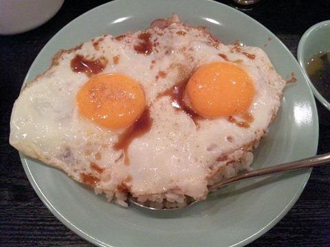 焼豚玉子飯美味焼豚玉子飯(並)