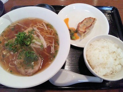 がむしゃら麺ランチ(しょう油ラーメン)