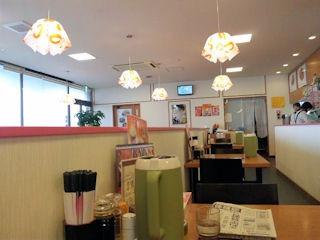 台湾料理錦福香の店内