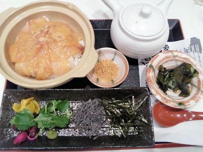 ごはんどき・エムズ キッチン愛媛鯛味噌茶漬け