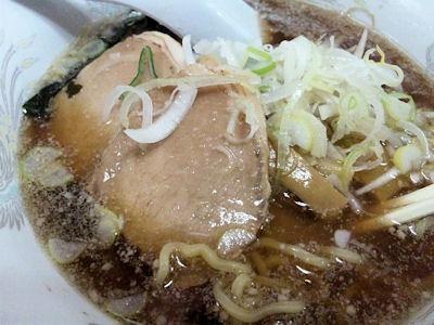 札幌ラーメン熊吉正油ラーメン