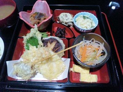 創作和ダイニング倭のKUNI天ぷら定食