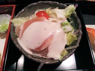 和み系居酒屋ふくろう華遊膳サラダ