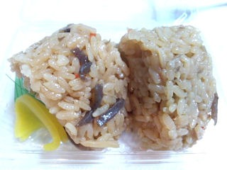 鶏五目ご飯のおにぎり(2個入り)