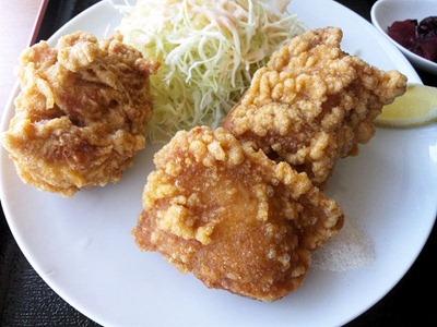 台湾料理錦福香唐揚げランチ(台湾塩ラーメン)