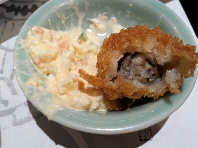 がんこ加古川店かきフライ定食