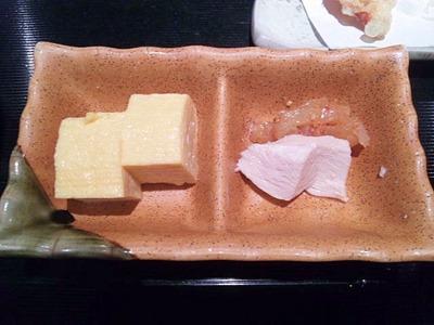 うおっとり焼き穴子丼と穴子の天婦羅盛りランチ
