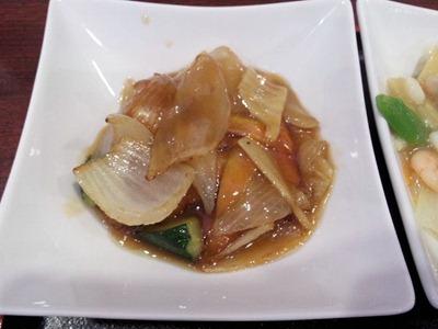 中華料理天津閣中華セットの酢豚