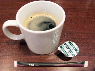 中華料理天津閣ドリンクバーのコーヒー