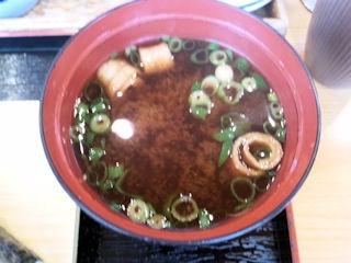 函館市場JAFプレミアムまぐろづくしセットの赤出汁