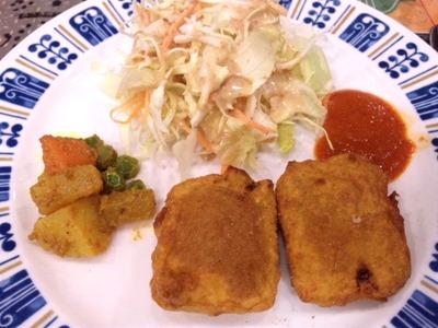 インド・ネパールレストランKARKI日替わりランチ