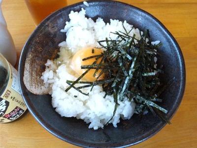 神戸ちぇりー亭/Cセットの卵かけご飯