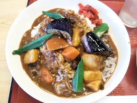 加古川北在家食堂夏野菜カレー