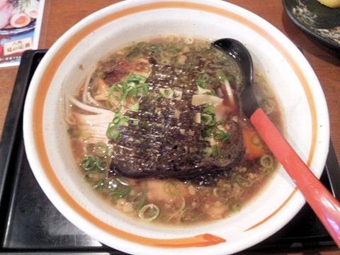 らーめん八角姫路らーめん(半麺)