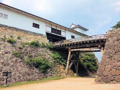 彦根城廊下橋と天秤櫓