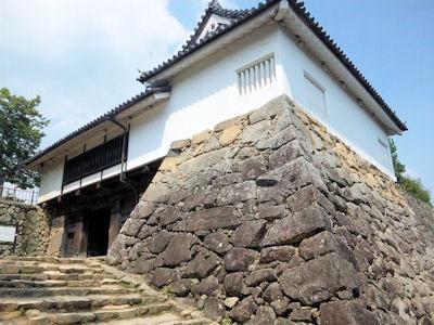彦根城太鼓門櫓の櫓門