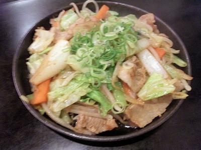 かめ家野菜炒め
