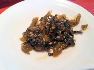 ラー麺ずんどう屋特製高菜