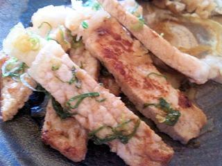 近江日野牛レストラン岡崎蔵尾豚の生姜焼