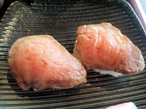 レストラン千成亭懐石風ランチ近江牛とろステーキ握り