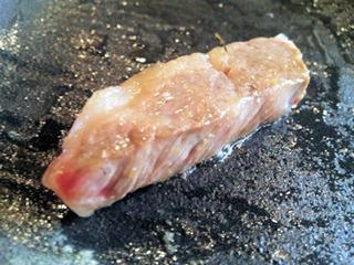 レストラン千成亭懐石風ランチ近江牛ロースステーキ