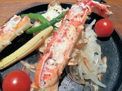 香住漁港和平タラバ蟹ステーキ御膳
