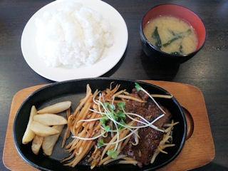 街の洋食屋さんグリルKOU焼肉定食
