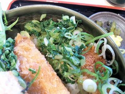 姫路バイパス別所PA涼味冷やしかつ丼