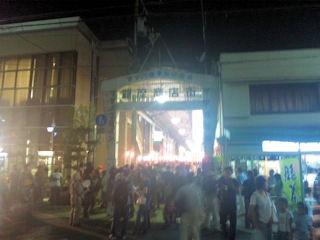 たかさご万灯祭2013銀座商店街