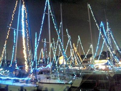 たかさご万灯祭2013水の灯りの会場
