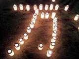 たかさご万灯祭2013万の字
