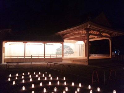 たかさご万灯祭2013高砂神社新能舞台