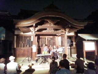 たかさご万灯祭2013高砂神社三代目相生の松の霊木