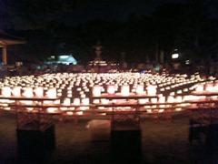 たかさご万灯祭2013高砂神社旧能舞台