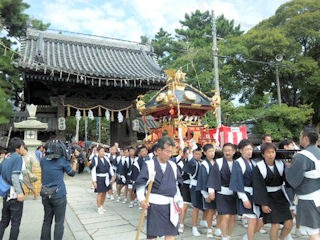 高砂神社秋祭り2013
