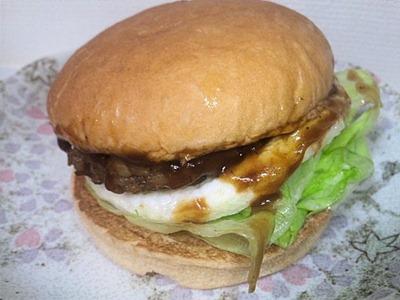 ロッテリア肉厚ハンバーグステーキバーガー
