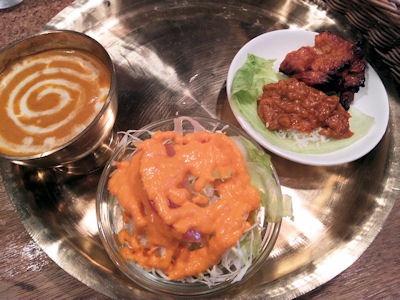 インド・ネパール料理パシュパティキリスナセット