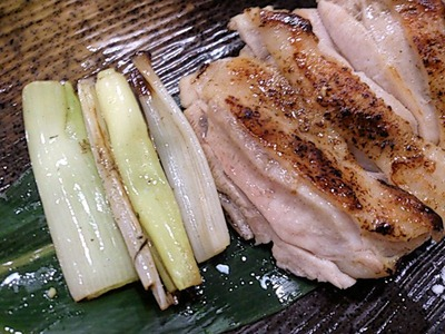 らーめん麺魂加古川本店大和地鶏モモ塩焼き
