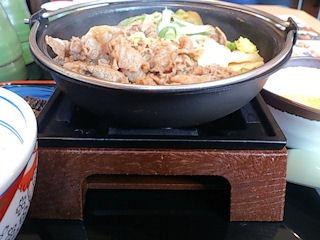 吉野家牛すき鍋膳