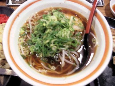 らーめん八角/播磨本店まんぷく定食のラーメン