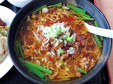 台湾料理豊源日替りランチ台湾ラーメン